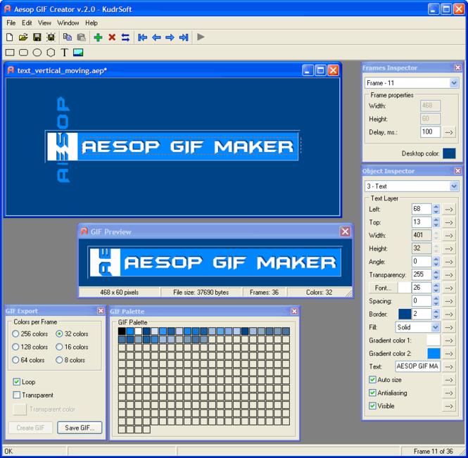 ! Aesop GIF Creator Screenshot 1
