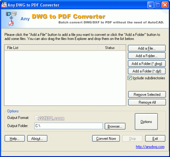 DWG to PDF Convert Screenshot 3