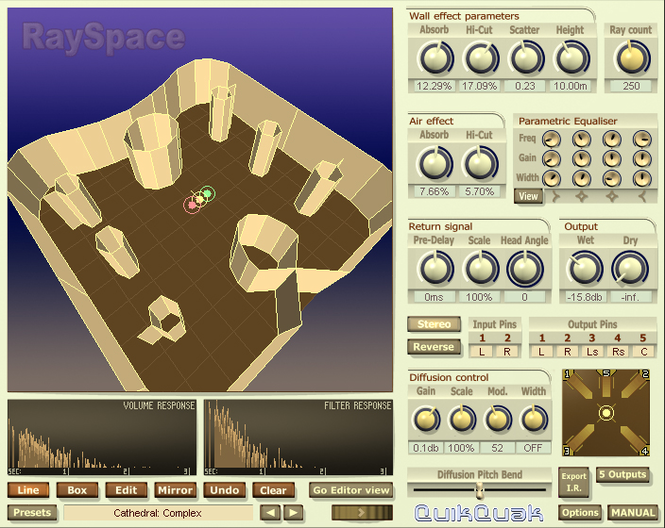 RaySpace Screenshot