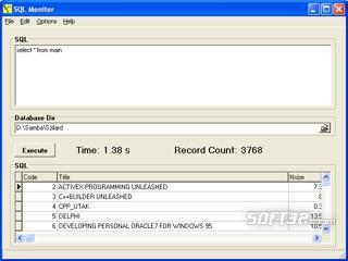 SQLMonitor Screenshot 2