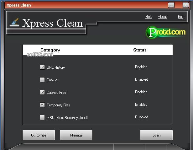 Xpress Clean Screenshot 1