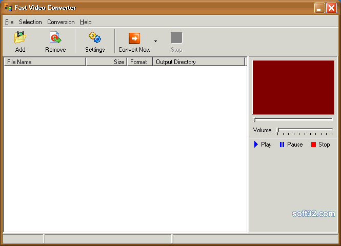 Fast Video Converter Screenshot