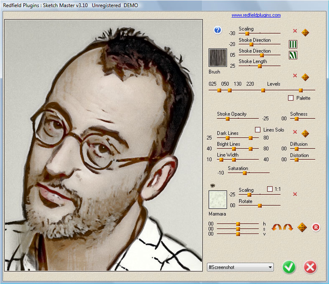 Sketch Master plug-in Screenshot
