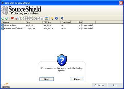 SourceShield Screenshot 2