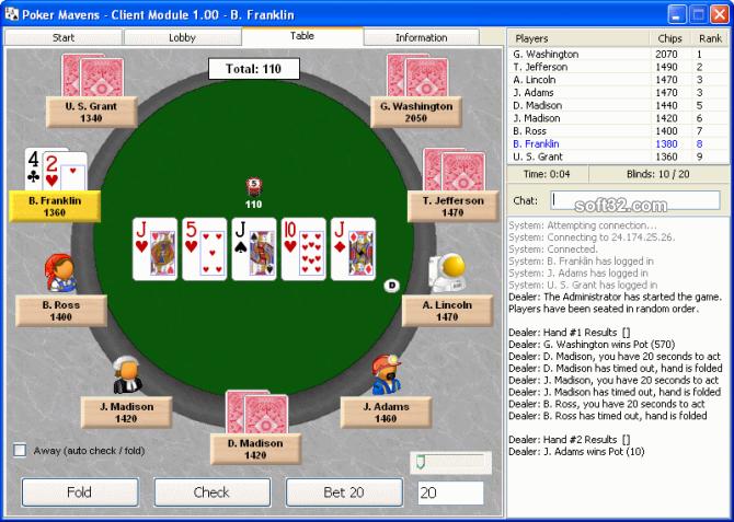 Poker Mavens Screenshot 3