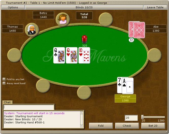 Poker Mavens Screenshot