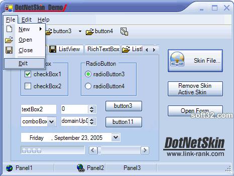 DotNetSkin Screenshot 3
