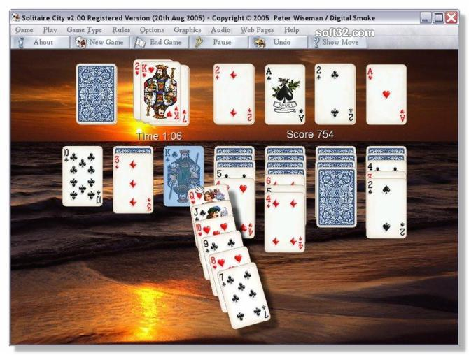 Solitaire City for Windows Screenshot 3