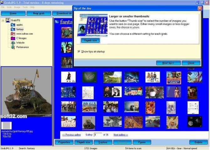GrabJPG Screenshot 3