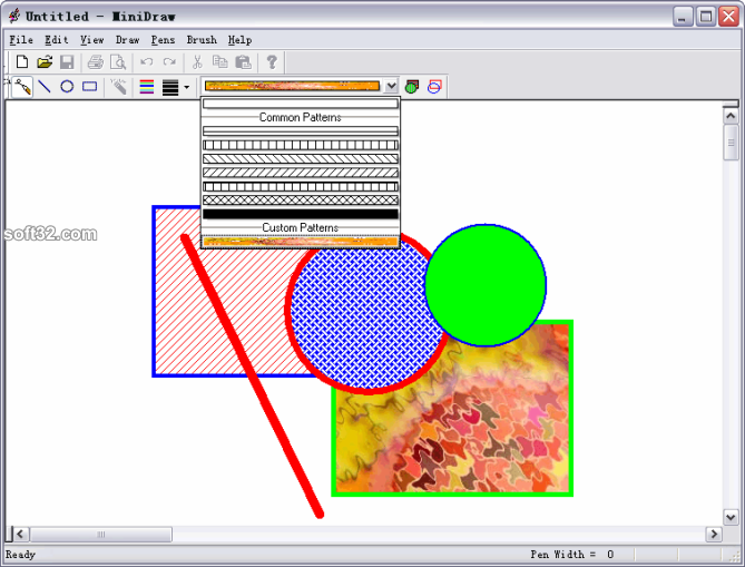 PatternCombo ActiveX Control Screenshot 3