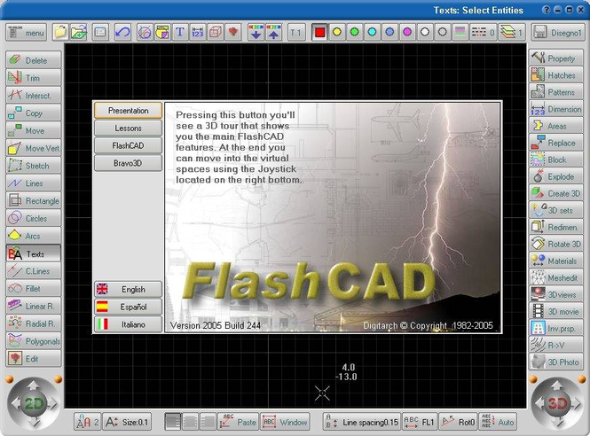 FlashCAD Screenshot 1