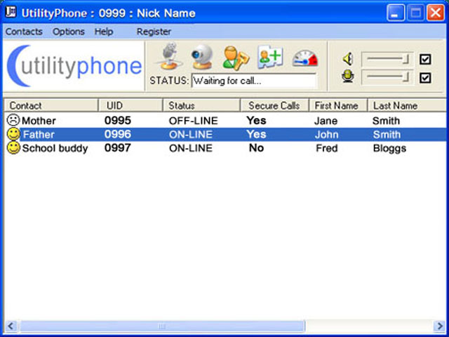 Utility Phone Screenshot