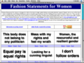 Fashion Statements for Women 3