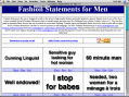 Fashion Statements for Men 2