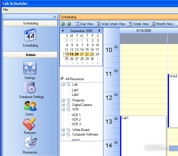 Technology and Media Scheduler Screenshot 3
