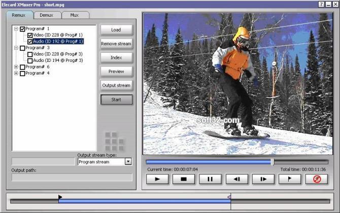 Elecard XMuxer Pro Screenshot 3
