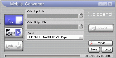 Elecard Mobile Converter Screenshot