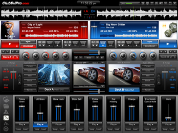 ClubDJ ProVJ Screenshot