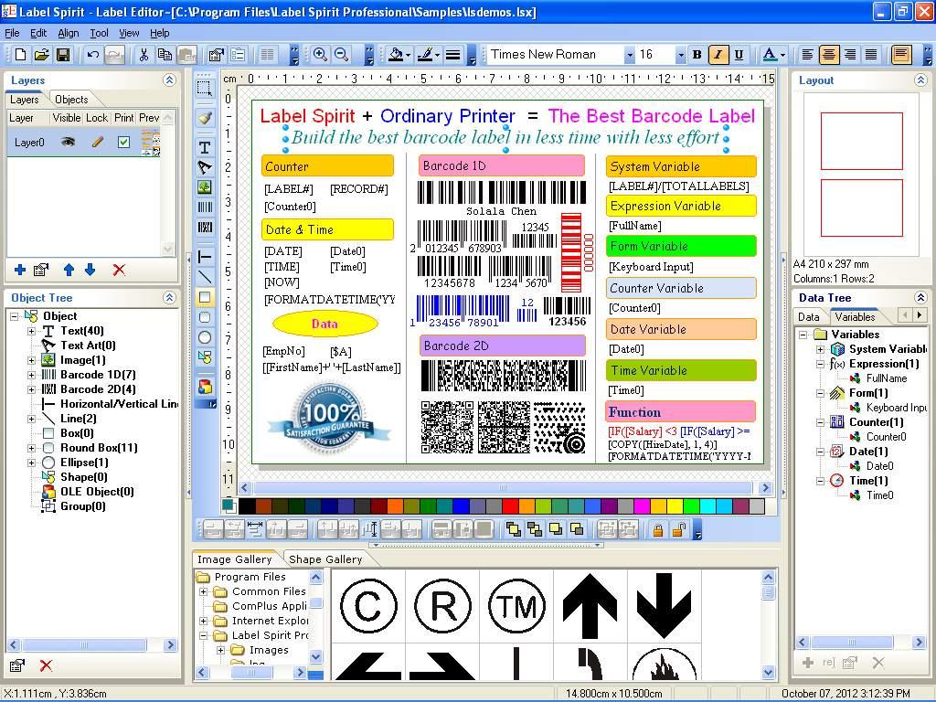 Label Spirit Professional Screenshot 2