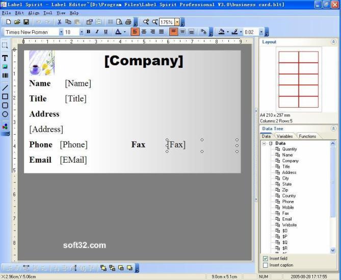 Label Spirit Professional Screenshot 3