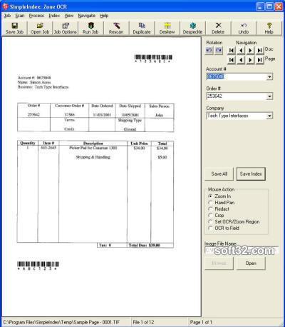 SimpleIndex Screenshot 3
