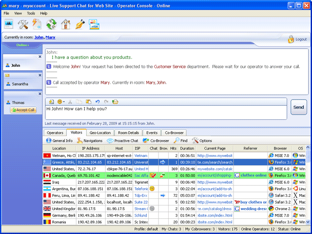 ProvideSupport: Live Chat for Website Screenshot 2
