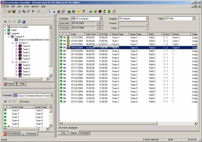 Round Robin Scheduler Screenshot 3