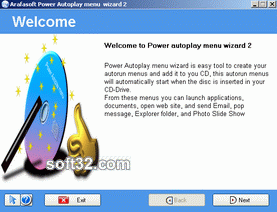 Power Autoplay menu wizard Screenshot 3