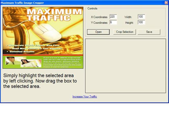 Maximum Traffic Image Cropper Screenshot 1