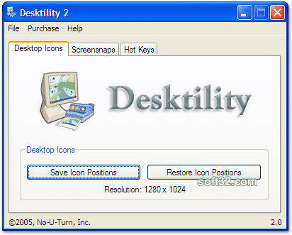 Desktility for Windows Screenshot