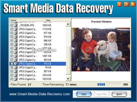 Smart Media Data Recovery Screenshot