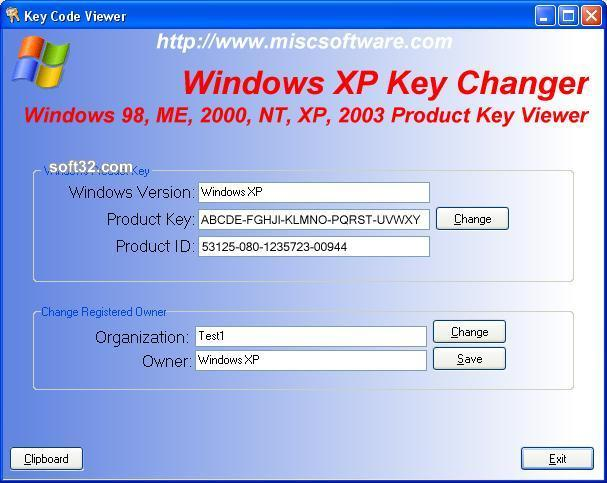 download windows product key viewer changer 2 95