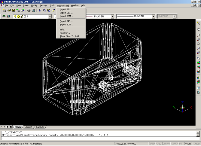 Mesh To Solid Screenshot 3