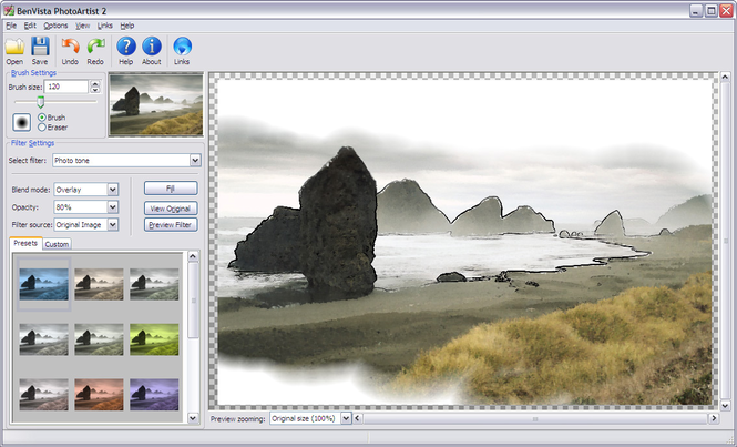 PhotoArtist 2 Screenshot