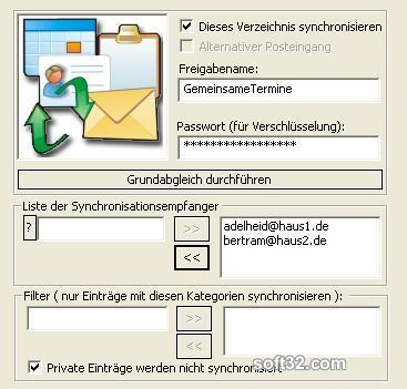 OLFolderSync Screenshot 2