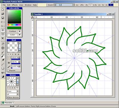 Mandala Painter Screenshot 2