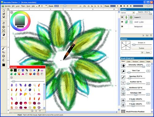 Mandala Painter Screenshot 1