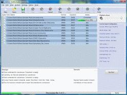 Huelix Audio Converter Screenshot