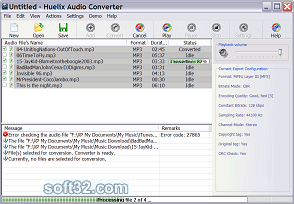 Huelix Audio Converter Screenshot 2