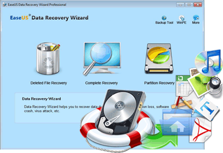 EaseUS Data Recovery Wizard Pro Screenshot