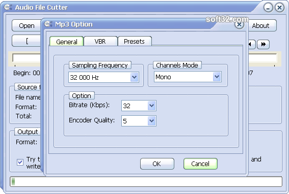 Audio File Cutter Screenshot 3