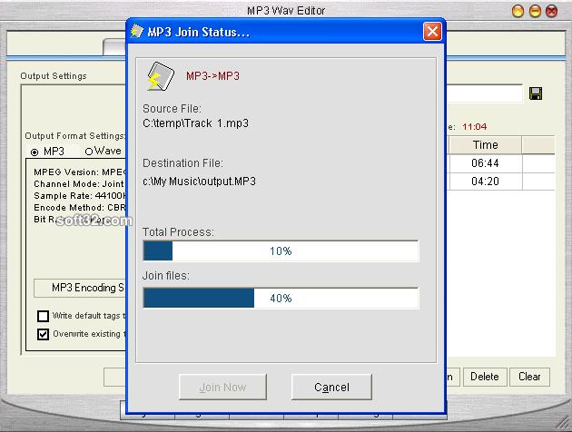 MP3 Wav Editor Screenshot 3