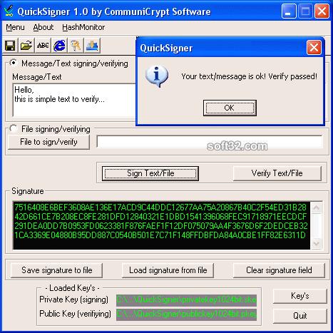 QuickSigner Screenshot 3