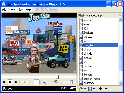 Flash Movie Player Screenshot 2