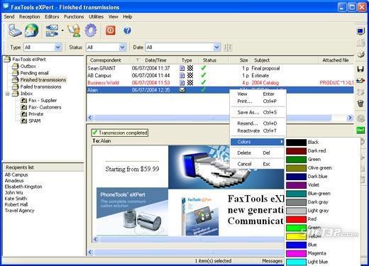 FaxTools eXPpert Screenshot 3