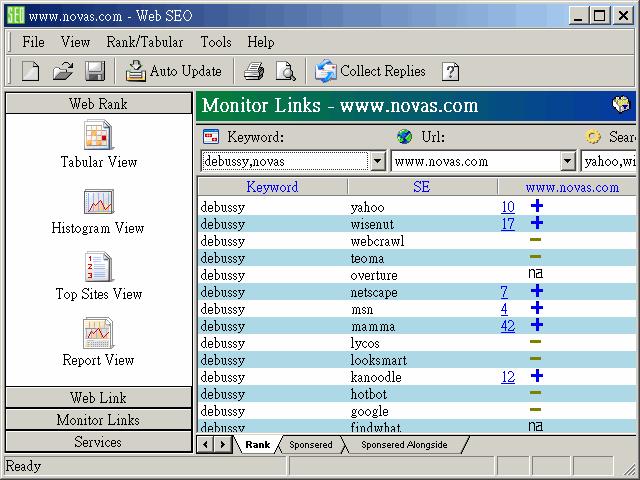 Web SEO Screenshot