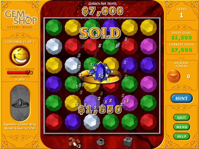 Gem Shop Screenshot