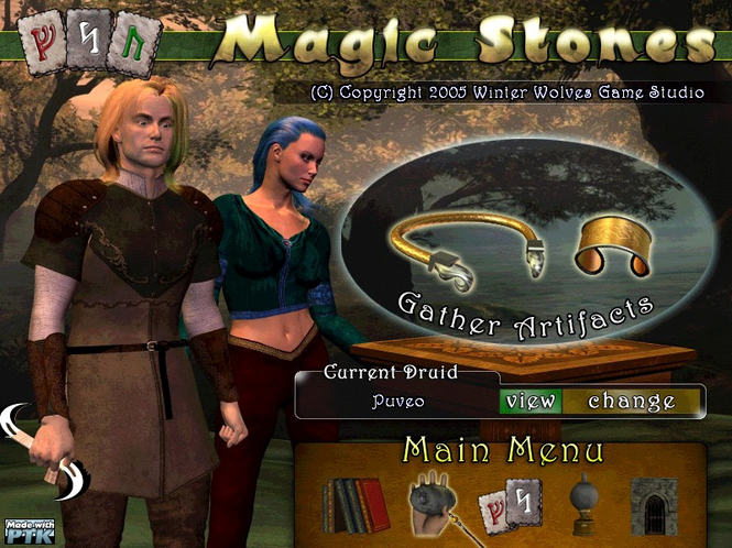 Magic Stones (WIN) Screenshot 1