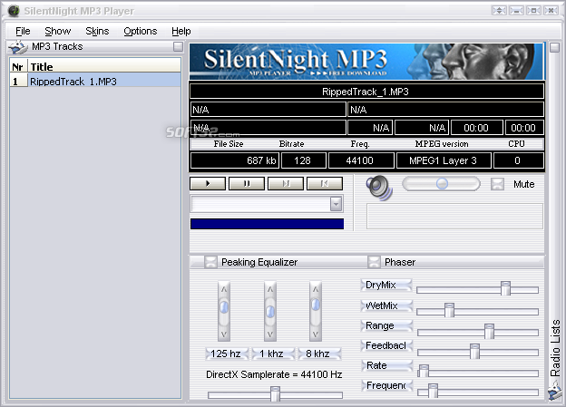 SilentNight Radio Screenshot 2