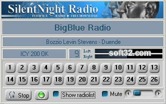 SilentNight Radio Screenshot